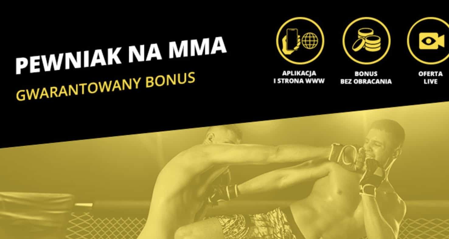 KSW 50 z bonusem. Fortuna ma premię 20 PLN dla każdego gracza!