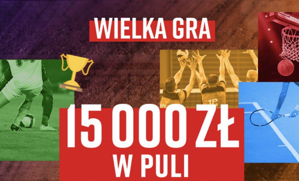 Wielka Gra od Betclic Polska - do zdobycia aż 15.000 PLN!